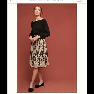 NWT Anthropologie tulles skirt size medium